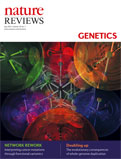 Nature Reviews Genetics cover