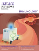Nature Reviews Immunology cover