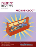 Nature Reviews Microbiology cover